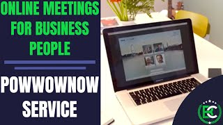 Best Virtual Meeting Platforms For Large Groups | Powwownow | Online Meetings For Business People