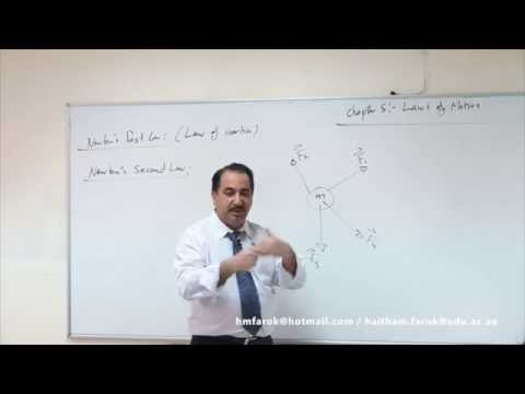 Lecture 14. The laws of motion
