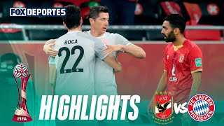 Resumen Al Ahly 0-2 Bayern Munich: Mundial de Clubes