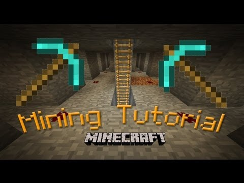 Hard-Core Minecraft:  Mining Tutorial And Guide  (branch Mining At Level 12)  (part 8)