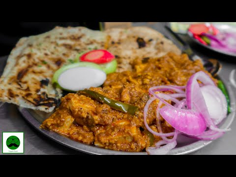 Spicy Indian Street Food at Punjabi Dhaba|| Chole, Panner and Butter Naan||
