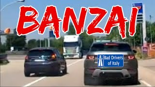 BAD DRIVERS OF ITALY dashcam compilation 07.31