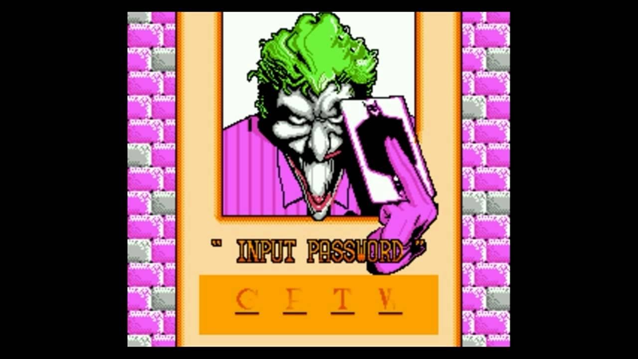 Nes Batman Return Of The Joker Password Stage 3 2 Youtube