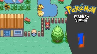 Playing Pokemon Fire Red Part 1 (Come Request Songs!)