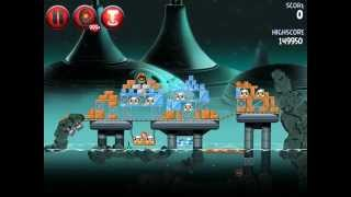 Angry Birds Star Wars 2 Rise of the Clones P4-S1 3 Star Walkthrough