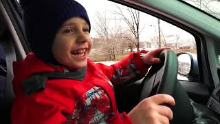We Are in the Car - Song Nursery Rhymes - Kids Songs with Yegorka