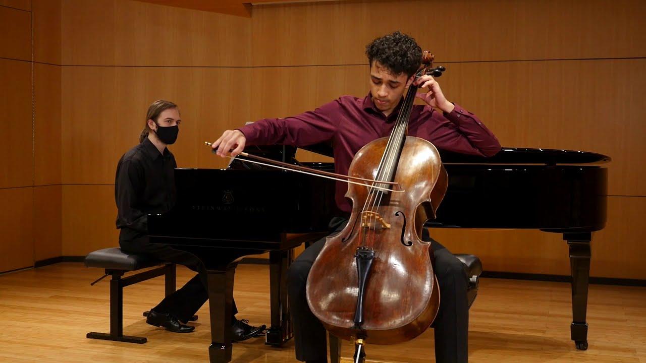 Bach Cello Suite 2, Sarabande, George Wolfe-McGuire