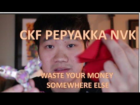 The Worst $200 Fidget Spinner I Own - Pepyakka NVK - by Spin Nerd