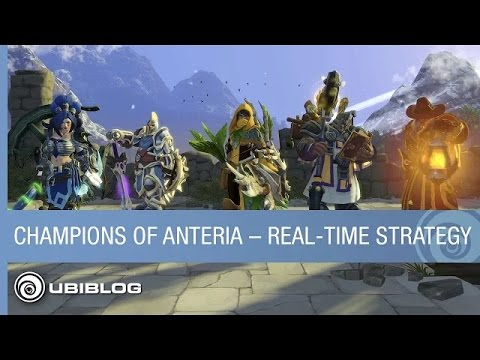 Champions of Anteria | Vídeo 'Real-time Strategy' |