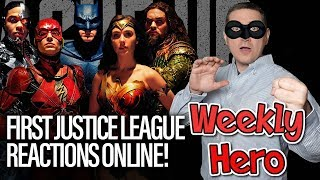 Justice League First Reactions - The Weekly Hero