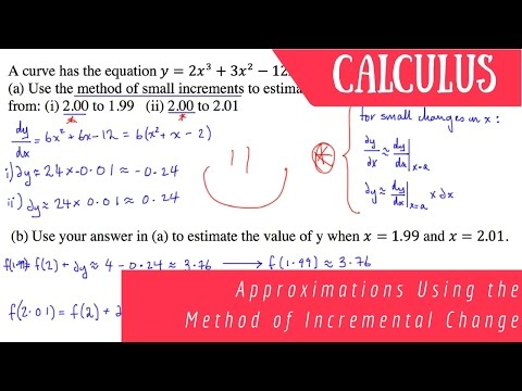 Calculus: Method of Small Increments (Example)