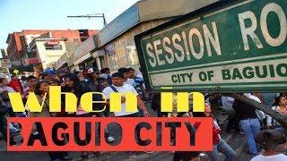 BAGUIO CITY FREE TRAVEL ! // VLOG 05