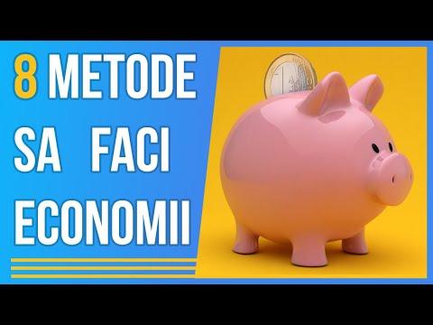 8 Metode Sa Economisesti Bani | Cum sa faci economie
