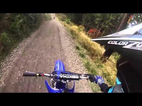 2000 Yz 125 woods riding