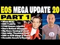 EOS Mega Update 20 (Part 1 of 2): When REX? ITAM Games, Weiss Ratings, Tezos, Facebook Coin, Emanate