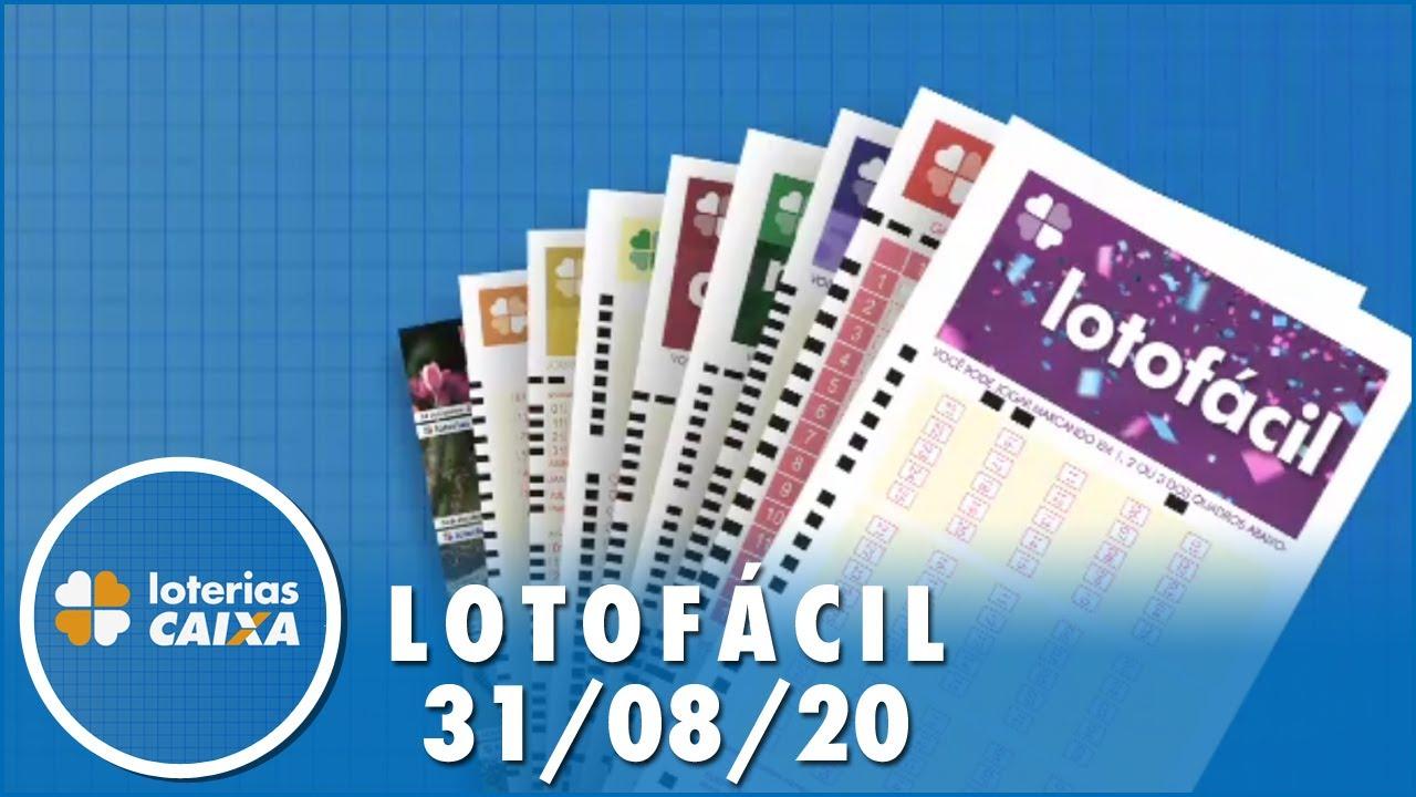 Resultado da Lotomania - Concurso nº 2025 - 31/08/2020
