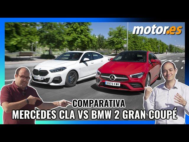 Mercedes CLA Coupé VS BMW Serie 2 Gran Coupé