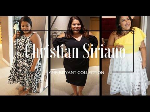 54288a689b6 Inside Lane Bryant - Christian Siriano  Plus Size Fashion Haul  Inside my  Dressing Room - YouTube