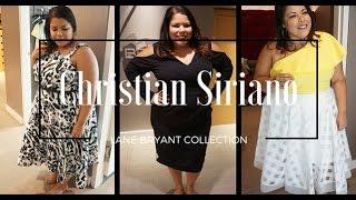 b89e03ab3cb Inside Lane Bryant - Christian Siriano  Plus Size Fashion Haul  Inside my  Dressing Room