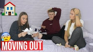 I'M MOVING OUT WITH MY GIRLFRIEND PRANK ON LITTLE SISTER!! *she nearly cried*