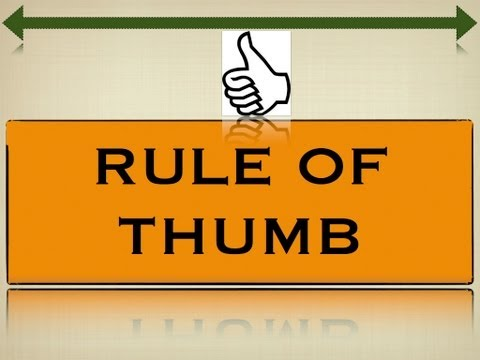 Business Valuation - Rule of Thumb Method