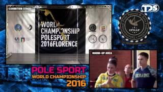Polina Volchek & Dimitry Politov (USA) Doubles Senior- Finals (1st place)