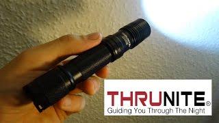 ThruNite® TN12 CW Taktische LED Taschenlampe mit 1050 Lumen im Test !