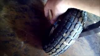 Самодельные транцевые колёса