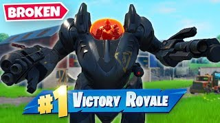 *NEW* B.R.U.T.E MECH is OP! (Fortnite Season X)