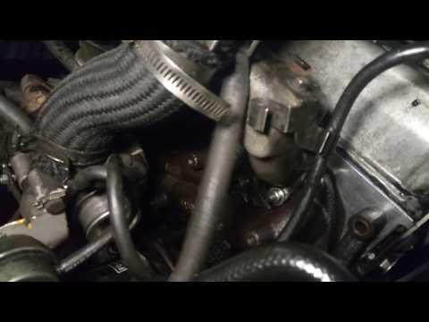Хендай  дизель 2.5 TDI - Стучит двигатель, турбина подвела под монастырь , Engine knock.