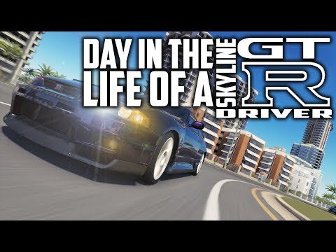 Day in the Life of a Skyline GTR Driver | YTK Skit