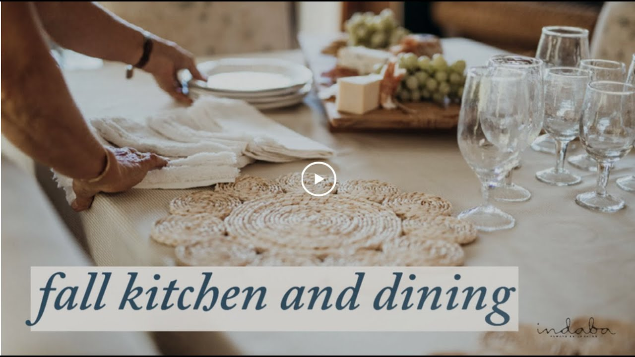 Indaba - Fall Kitchen & Dining