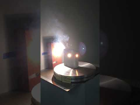 Laser penetration of Super High Temperature Ceramic by Alkras Laser