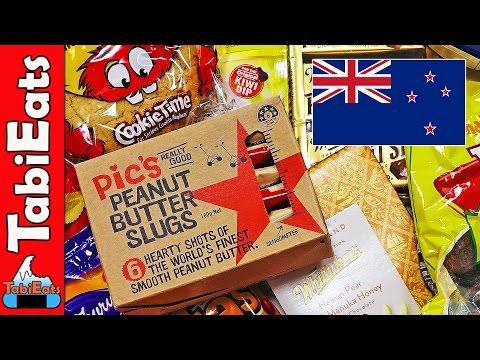 Japanese Try New Zealand Candy (Snacks & Treats Haul)
