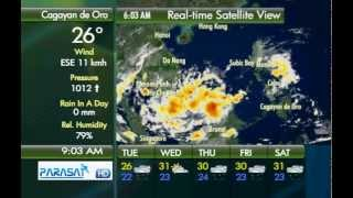 Parasat Weather Update Cagayan de Oro City: November 13, 2012