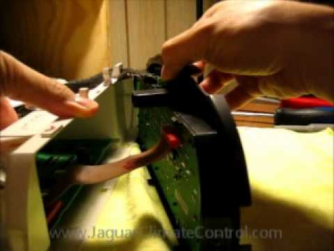 Jaguar S Type Climate Control Module Disassembly Youtube