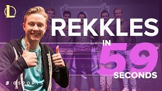 Rekkles in 59 seconds (Celebrating 1000 LCS Kills)