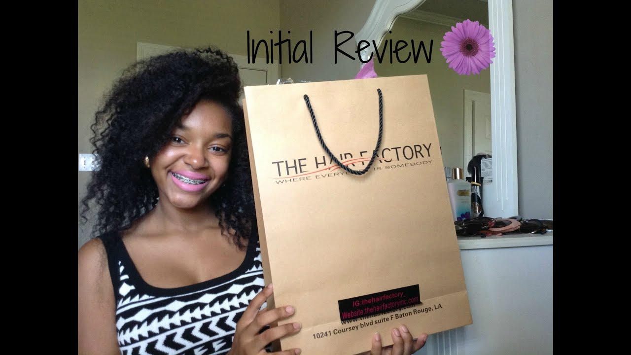 Initial Review  The Hair Factory  YouTube