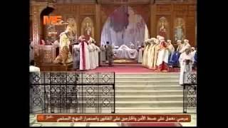 قداس تجليس وسيامة الأساقفة الجدد 16/06/2013