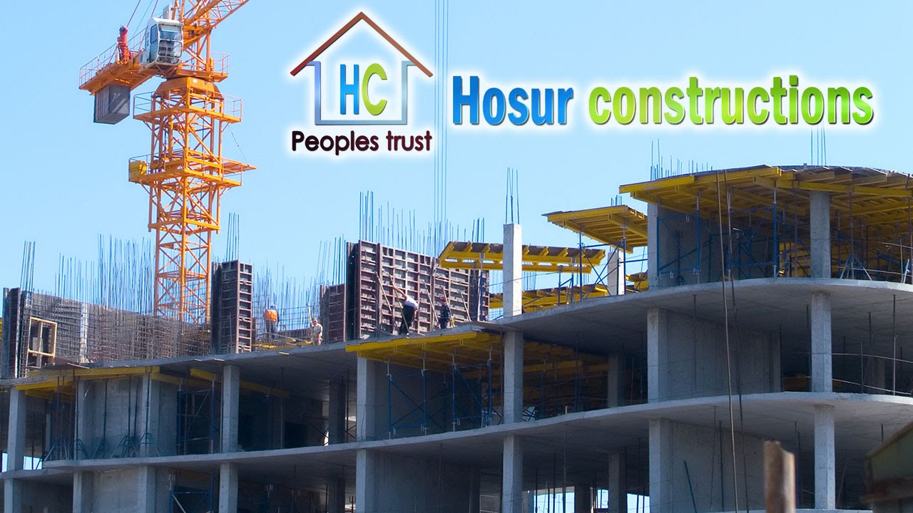 Hosur Industrial Residential Building Contractor Civil Construction Companies