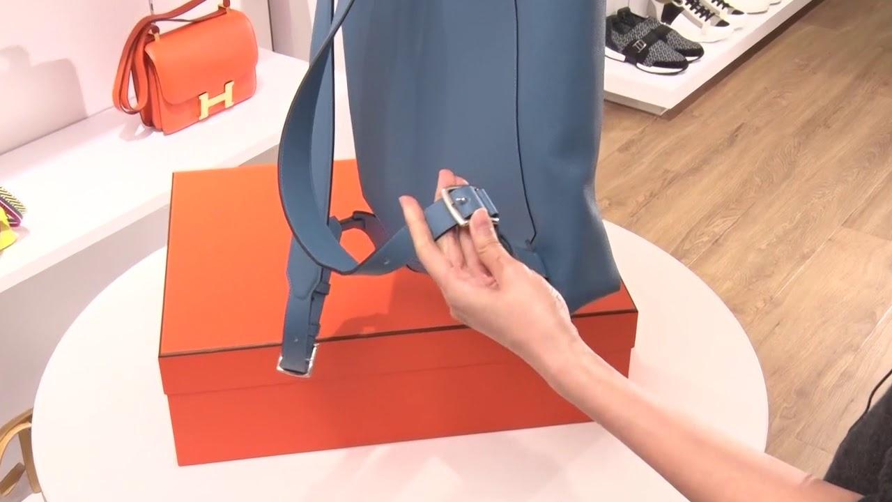 aed9778ef41b Apple Fashion - HERMES Flash後背包開箱片- YouTube