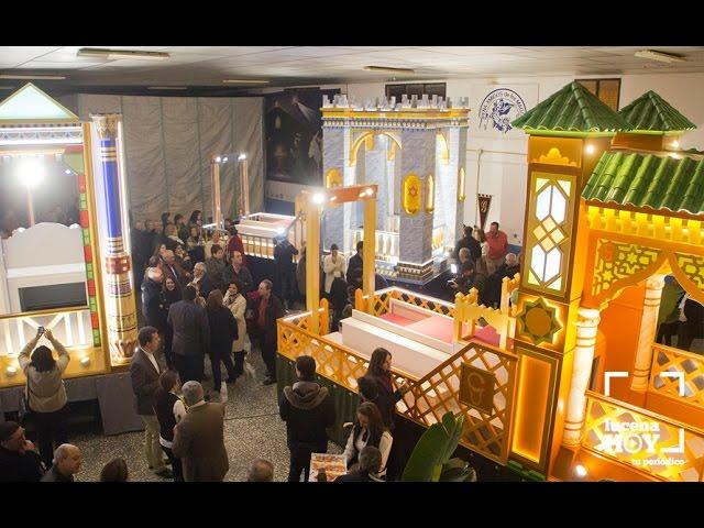Vídeo: Presentación de las nuevas Carrozas de los Reyes Magos para la Cabalgata de la Ilusión