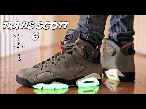 TRAVIS SCOTT 6 REVIEW & ON FEET (SNEAKER OF THE YEAR ??)