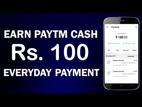 Earn Rs.100 Paytm Cash Per Day from a New APP !! Unique & Genuine !! Must Use app !!