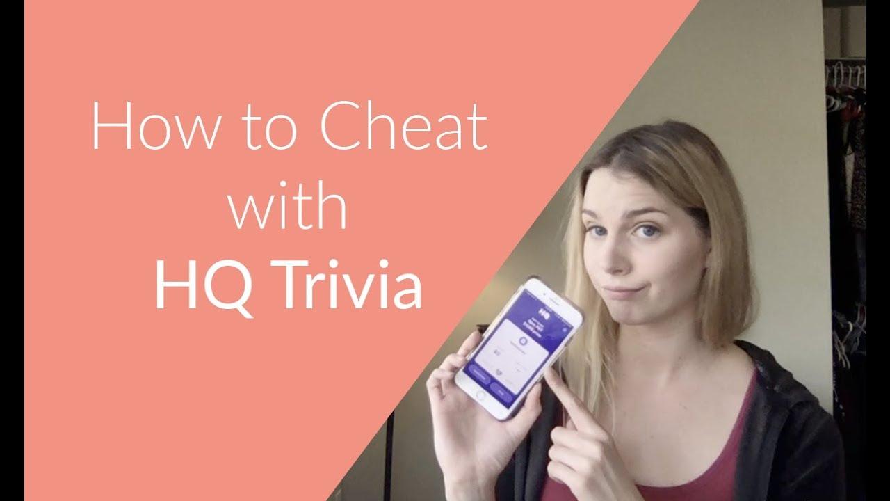 HQ Trivia Cheat
