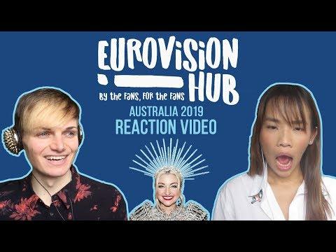 Australia | Eurovision 2019 Reaction Video | Kate Miller-Heidke - Zero Gravity