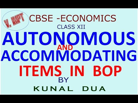 Autonomous and accommodating item in bop (Hindi / English)