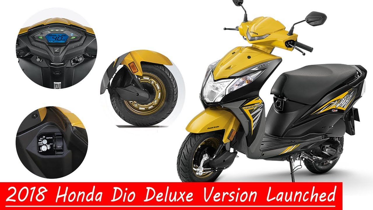 2018 Honda Dio Deluxe Version L All Detail Hindi Price Top Speed