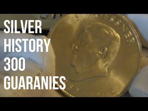 Silver History Sunday - Paraguay 300 Guaranies