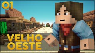 Minecraft no Velho Oeste #1: Bandidos no Trem?!